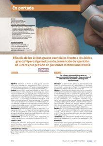 Eficacia de los ácidos grasos esenciales frente a los ácidos grasos hiperoxigenados en la prevención de aparición de úlceras por presión en pacientes institucionalizados