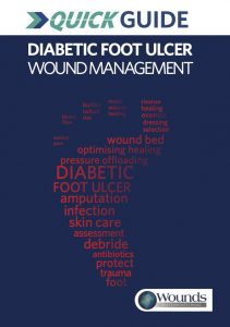 DIABETIC FOOT ULCER WOUND MANAGEMENT
